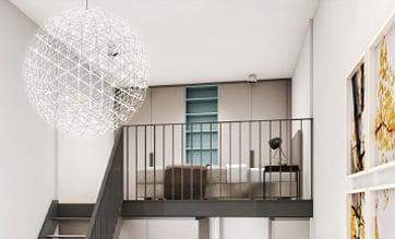 kleines studiomuc apartment mit galerie