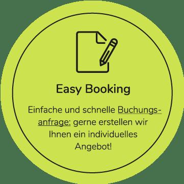 icon mit easy booking für studiomuc